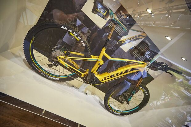 MB Scott E-Spark 2016 700 Plus Messe
