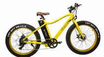 UB Chevrom eStallion E-Fatbike Basic Gelb ganz