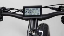 UB Chevrom eStallion E-Fatbike High schwarz Display