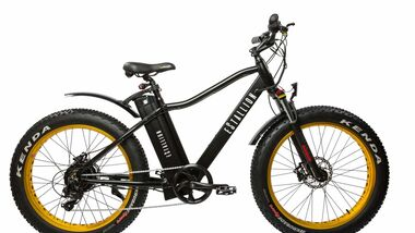 UB Chevrom eStallion E-Fatbike High schwarz ganz