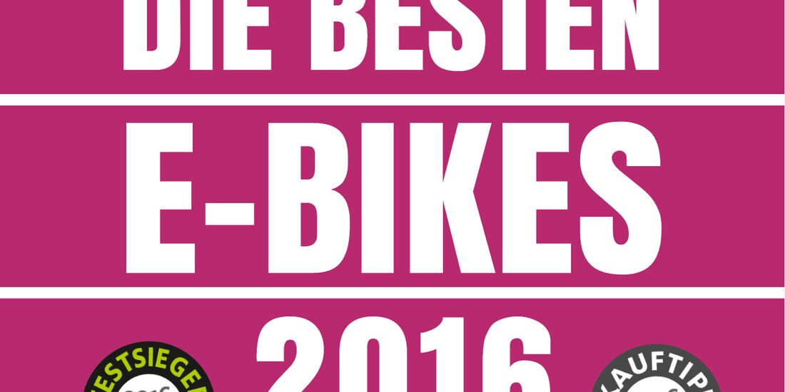 UB E-Bike Test Best of Test 2016 E-Bike-Testsieger Teaser