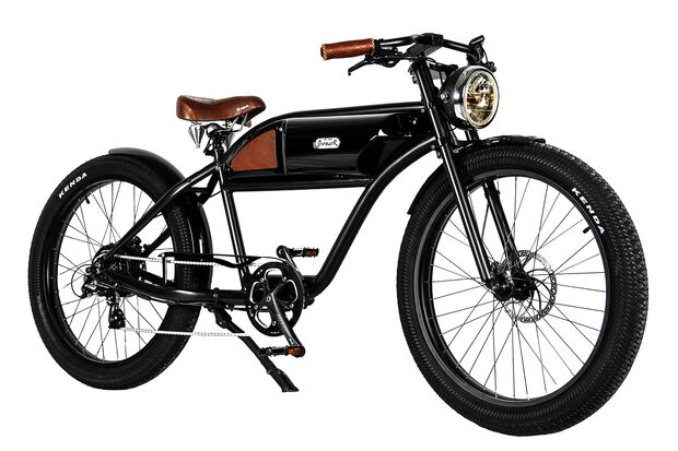 UB Greaser E-Bike Vintage Retro 01
