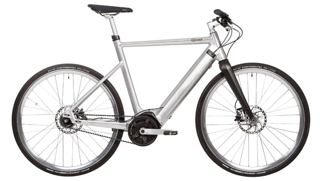 UB HNF-Nicolai SD1 Men: Schlankes und leichtes City-E-Bike