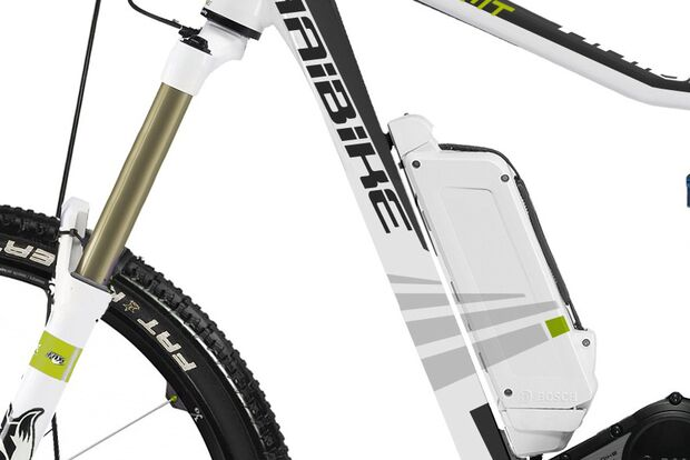 UB Haibike E-MTB xDuro All-Mountain 2013 Akku