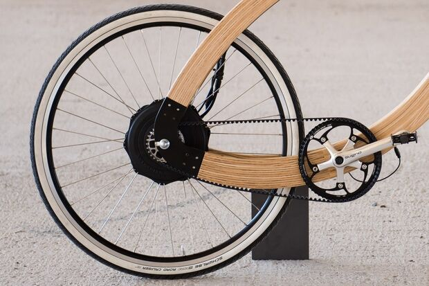 UB Holz-E-Bike Wood-E-Bike System 180