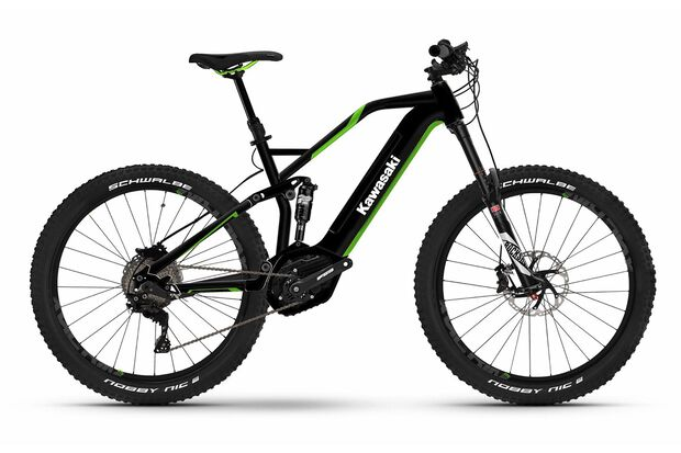 UB Kawasaki KBX 4.0 Full Suspension