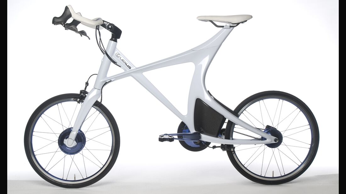 UB LEXUS Hybrid Bicycle Concept