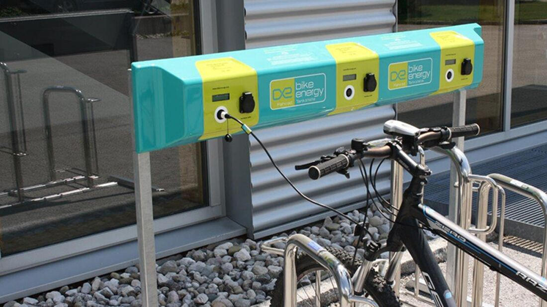 UB Ladestation E-Bike Pedelec bike-energy