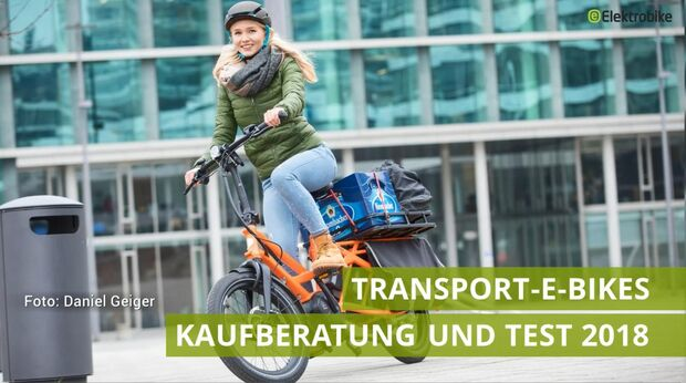 UB Lasten-E-Bikes Im Test 2018 Video