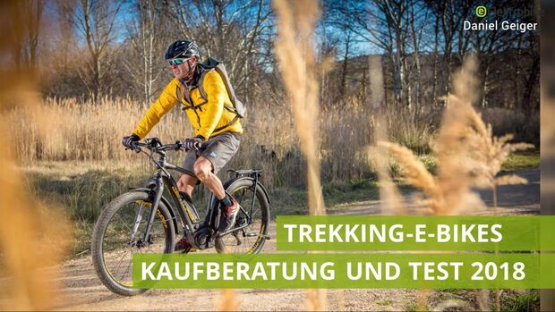 UB Trekking-E-Bikes im Test 2018 Video