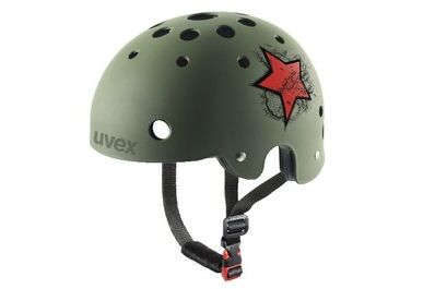 UB Uvex Star Red Rad Helm