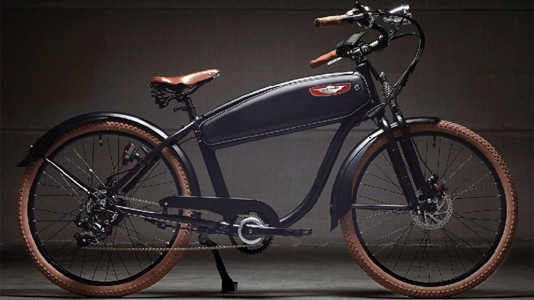 UB Wattitud Old Timer Old School E-Bike
