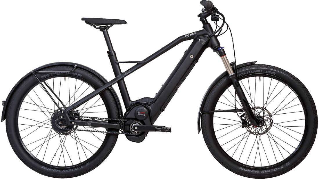 UB XD2 Urban: HNF Nicolai zeigt neues E-City-Bike